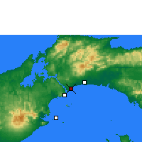 Nearby Forecast Locations - Panama City - Map