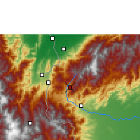 Nearby Forecast Locations - San Cristóbal - Map