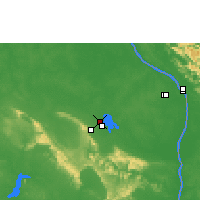 Nearby Forecast Locations - Sakon Nakhon - Map