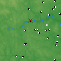 Nearby Forecast Locations - Zvenigorod - Map