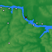 Nearby Forecast Locations - Zvenigovo - Map