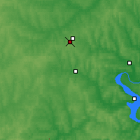 Nearby Forecast Locations - Vereshchagino - Map