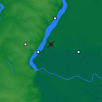 Nearby Forecast Locations - Volzhsky - Map