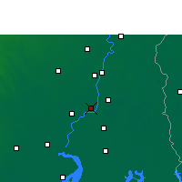Nearby Forecast Locations - Howrah - Map
