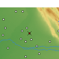 Nearby Forecast Locations - Jalandhar - Map