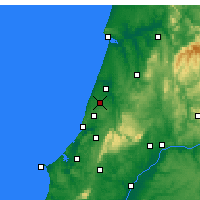 Nearby Forecast Locations - Marinha Grande - Map