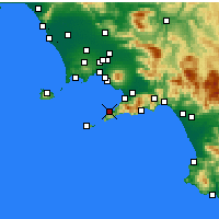 Nearby Forecast Locations - Sorrento - Map
