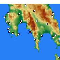 Nearby Forecast Locations - Lefktro - Map