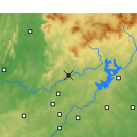 Nearby Forecast Locations - Canton - Map