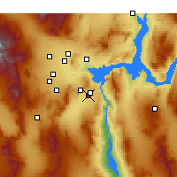 Nearby Forecast Locations - Boulder City - Map
