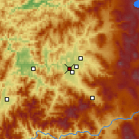 Nearby Forecast Locations - Central Point - Map