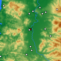Nearby Forecast Locations - Corvallis - Map