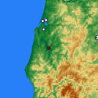 Nearby Forecast Locations - Myrtle Point - Map