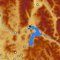 Nearby Forecast Locations - Clark Fork - Map