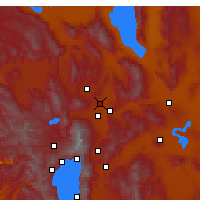 Nearby Forecast Locations - Sun Valley - Map